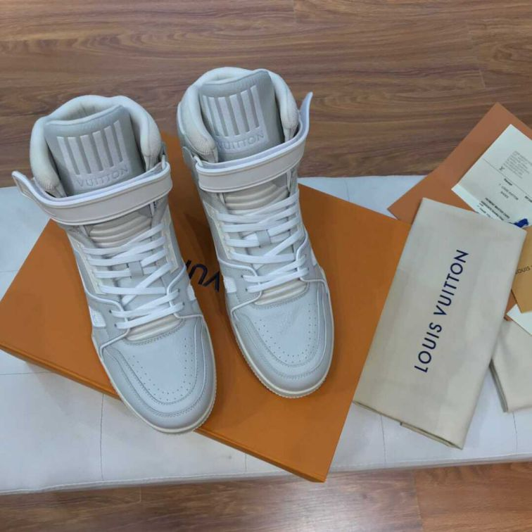 LV 2019 NEW Men High Sneakers