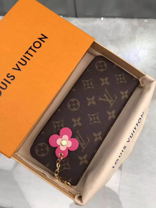 LV Wallets M64201 Monogram CLEMENCE