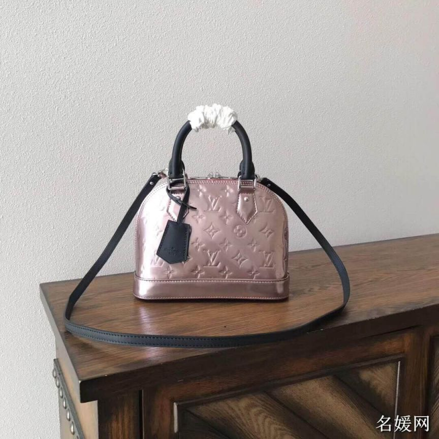 LV Tote Bags BB Patent Leather Crossbody M90485