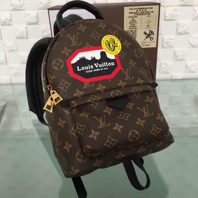 LV Backpack Bags 3D MONOGRAM BACKPACK M42972
