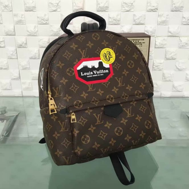 LV Backpack Bags 3D MONOGRAM BACKPACK M42973
