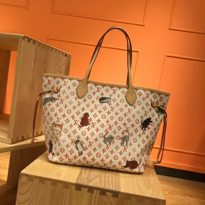 LV Shopping Bags 19 NEVERFULL M44459