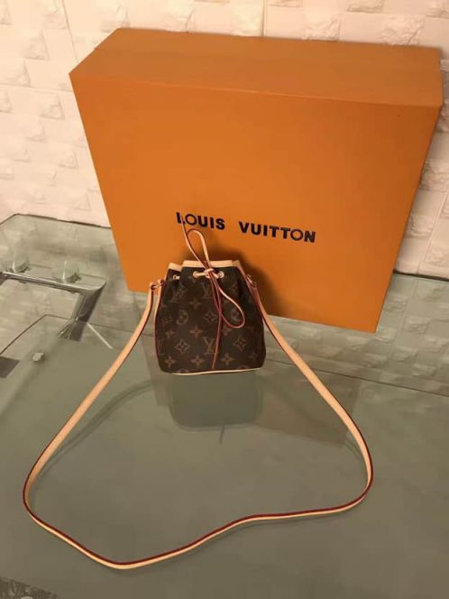 LV Shoulder Bags M41346 NANO NOE Monogram Crossbody