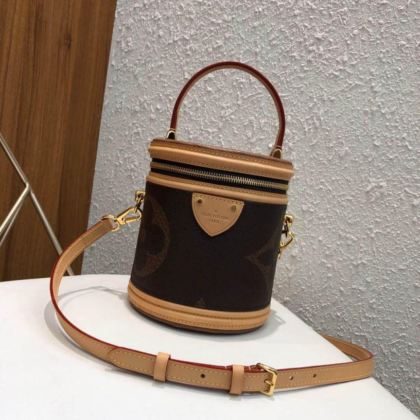 LV Bucket Bags 2019 Logo Cannes M44603