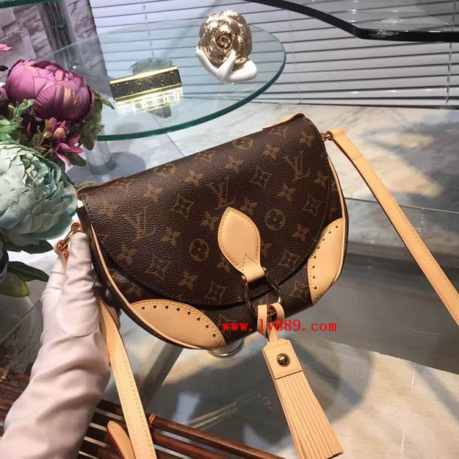 LV Shoulder Bags M41481 Saint Cloud Monogram Crossbody