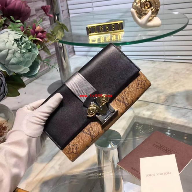 LV Wallets M64488 Sarah Other Monogram Canvas