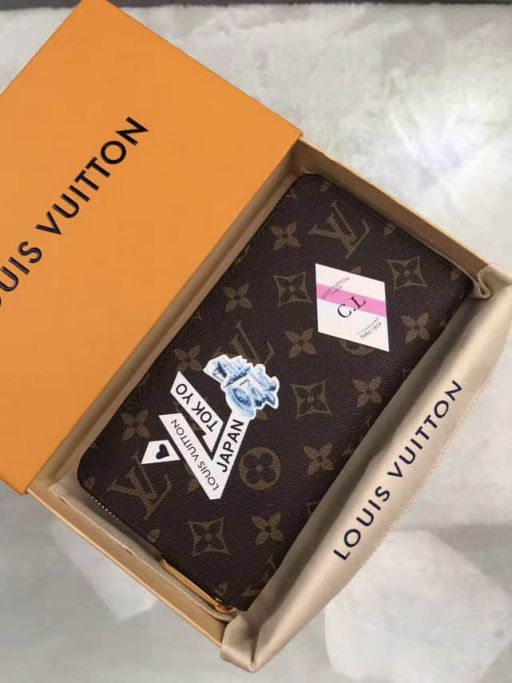 LV Wallets M60017 MYWORLD TOUR Zip