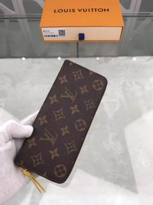 LV Wallets CLEMENCE Zip M60744