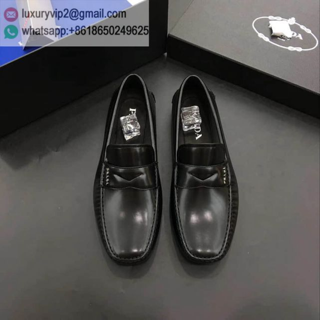 PRADA Causal Shoes Men Leather Shoes