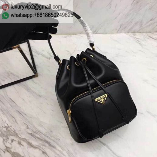 PRADA Leather 1BH038 Women Shoulder Bags