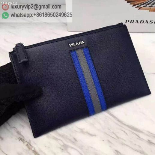 PRADA Limited Edition 2NG003 Men Clutch Bags