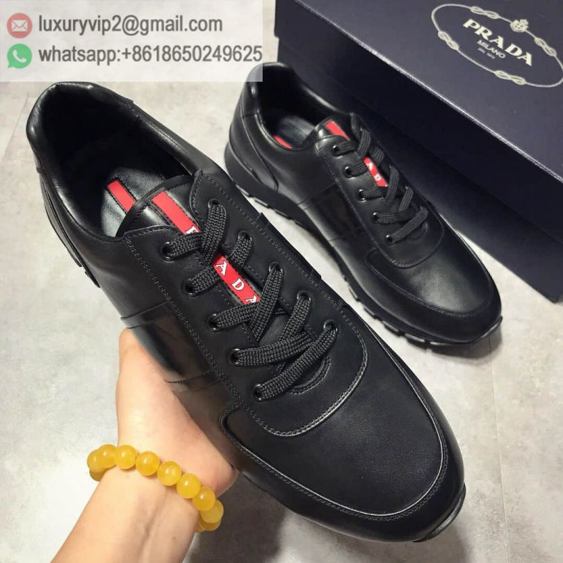 PRADA 2018 Causal Men Sneakers