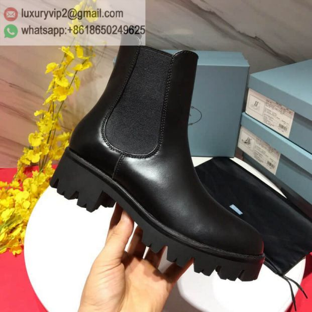 PRADA 8ss Chelsea Boots Women Shoes