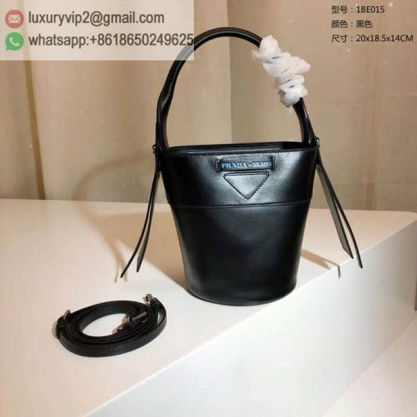 PRADA 2019 mini 1BE015 Women Bucket Bags