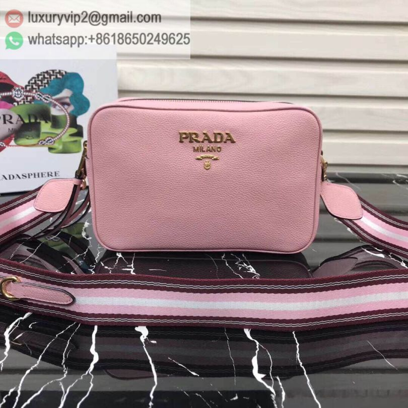 PRADA Leather Crossbody 1BH082 Women Shoulder Bags