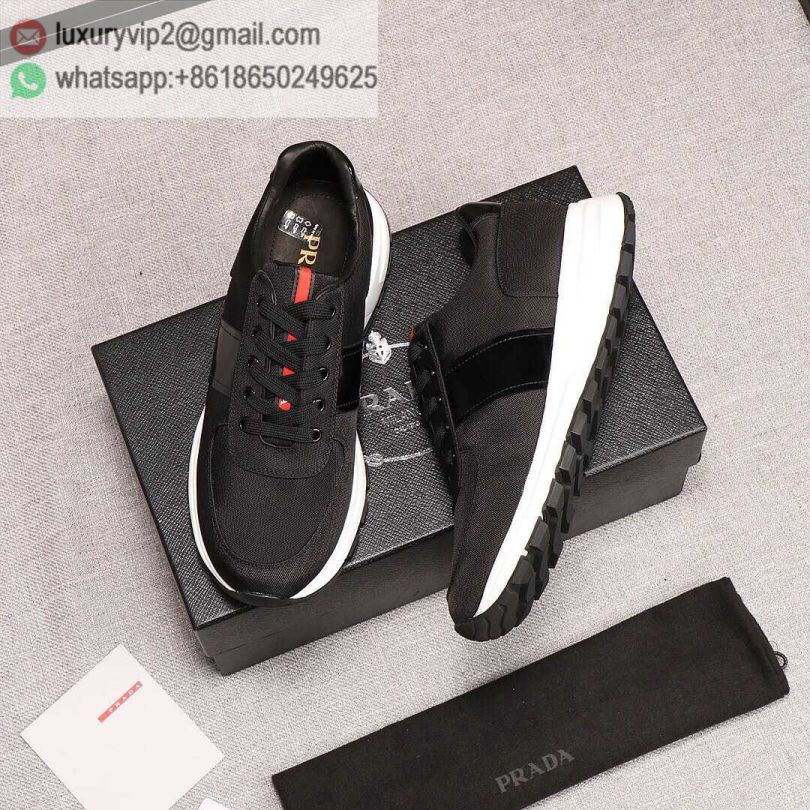 PRADA Men Leather Sneakers
