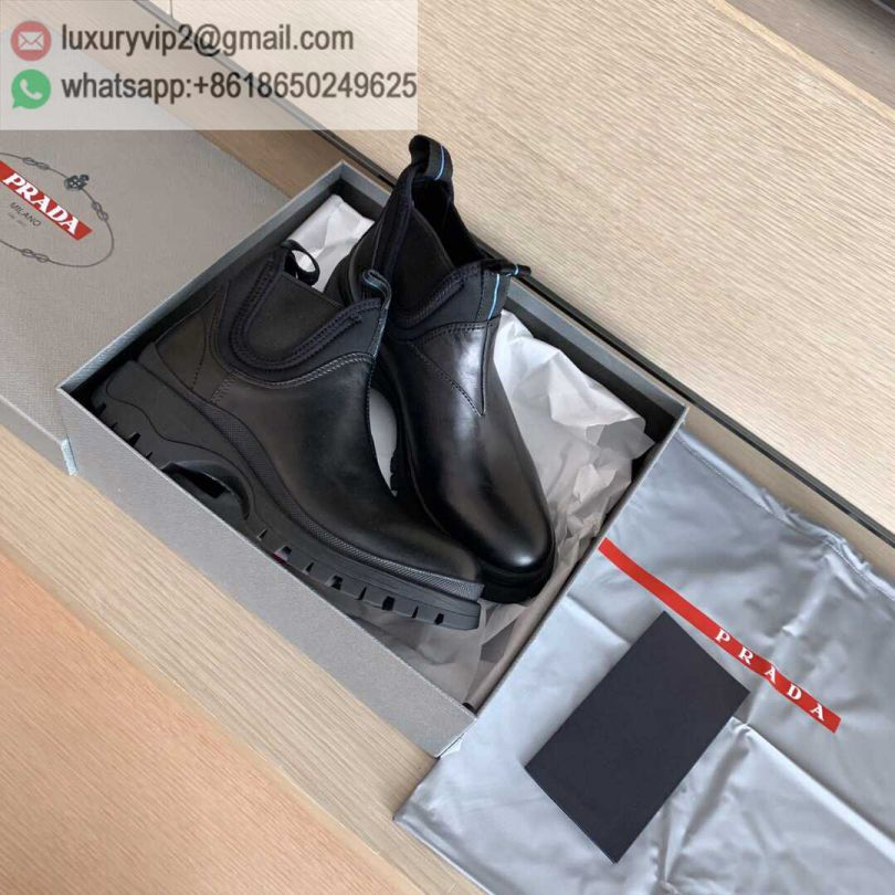 PRADA 2019 Ankle Boots High Women Shoes