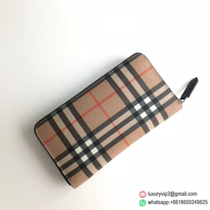 Burberry Canvas Zipper Wallets