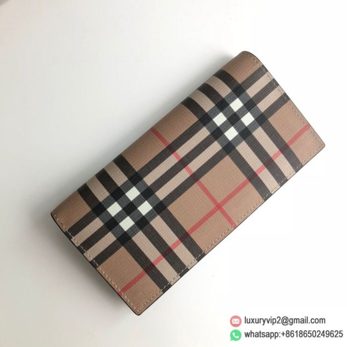 Burberry Canvas Flap Wallets