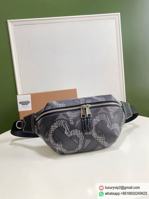 Burberry Print Canvas Fanny Packs