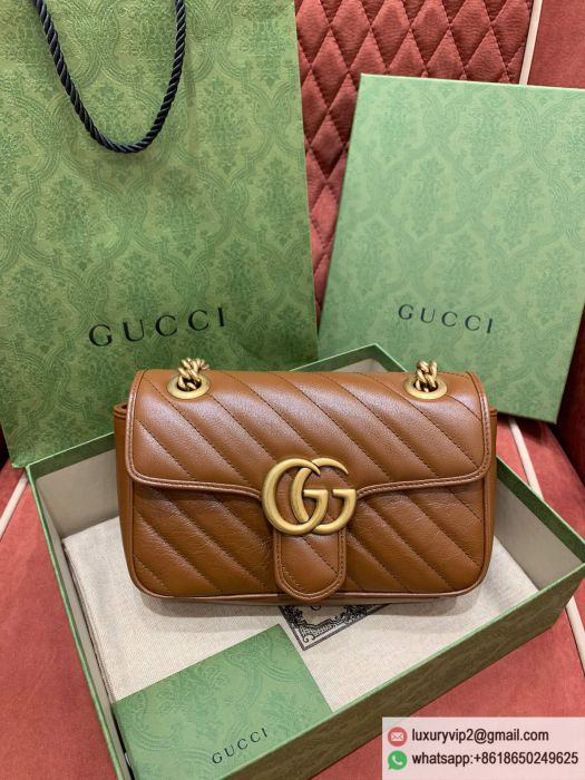 Gucci GG Marmont mini 446744 0OLFT 2535 Shoulder Bags