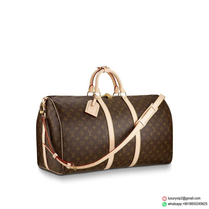 LV M41414 Monogram KEEPALL 55 with strapsTravel Bags