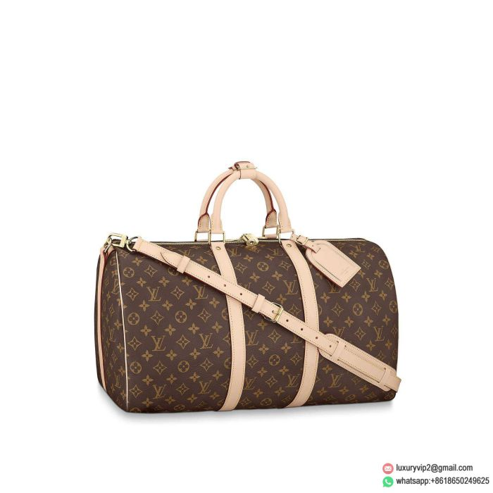 LV M41416 Monogram KEEPALL 50 with strapsTravel Bags