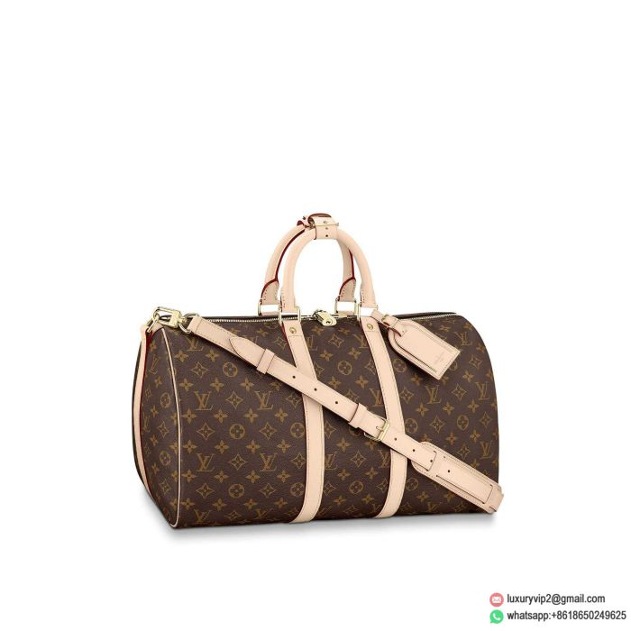 LV M41418 Monogram KEEPALL 45 with strapsTravel Bags